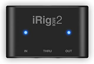 Interface de Áudio iRig MIDI 2 IK Multimedia