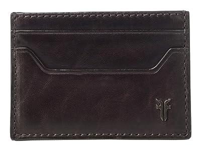 Frye Austin Card Case (Merlot) Handbags