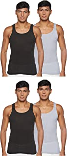 Hanes Mens Comfort Soft Moisture Wicking Tagless Tanks Vests (pack of 4)