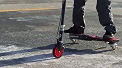 Amazon.com: Razor PowerWing DLX Caster Scooter - Silver ...