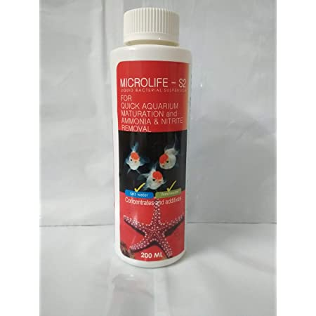 Aquatic Remedies Micro Life S2 Beneficial Bacteria for Fresh and Marine Aquarium, 200 ml