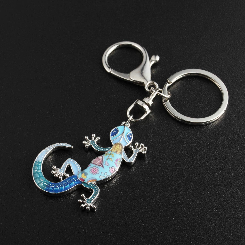 Salamander Keychain Lizard Lover Lizard Gift IBH Lizard Key Ring Keychain  Zipper Pull Gecko Keychain Newt Keychain