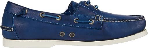 Navy Dip-Dye Leather
