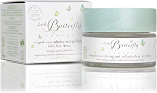 Little Butterfly London Soothing Wrapped in Love Calming Anti-Pollution Baby Face Cream - Nourishes and Protects Skin, Rel...