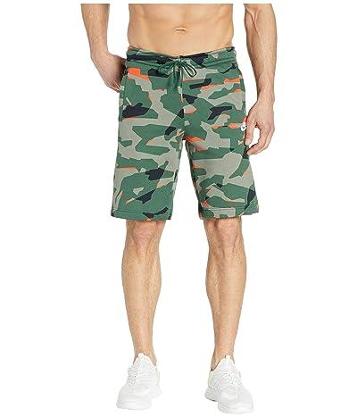 Nike NSW Club Camo BB Shorts (Fir/Fir/White) Men
