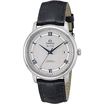 [オメガ] 腕時計 デ・ビル シルバー文字盤 コーアクシャル自動巻 424.13.40.20.02.003 並行輸入品 ブラック