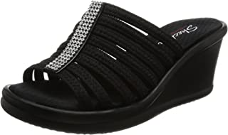 Skechers 38562B/N Sandalias con Plataforma para Mujer