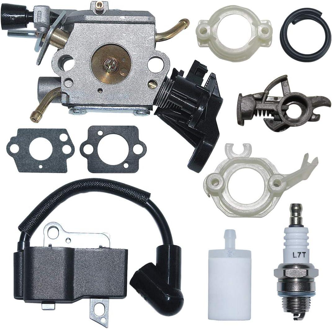 AUMEL Carburetor Austin Mall Price reduction Ignition Coil Fuel Filter Kit Flange for H Base