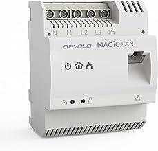 devolo Powerline Adapter Magic 2 LAN DINrail Hutschienen Adapter -bis 2.400 Mbit/s Internet aus dem Verteilerkasten, profe...