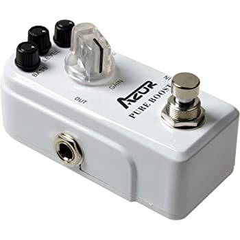 AZOR Pure Boost Guitar Effect Pedal Micro Clean Boost with True Bypass