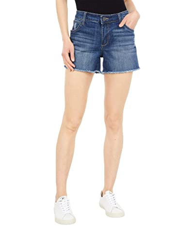 KUT from the Kloth Gidget Fray Shorts in Ageratum Women