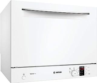 Bosch SKS62E32EU Serie 4 - Lavavajillas de mesa compacta (6 plazas), color blanco