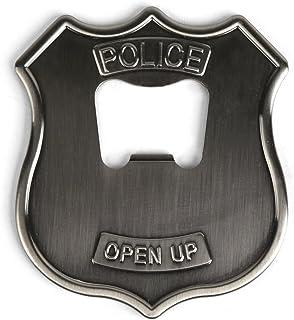 Kikkerland KKBO08 Bottle Opener Police Badge Theme