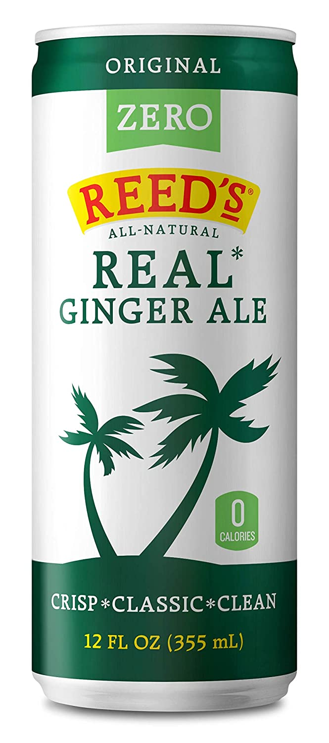 Reed's New mail order Zero Sugar Oklahoma City Mall Real Ginger Al Classic All-Natural Ale