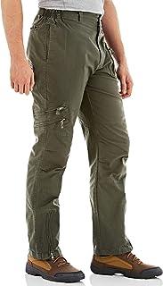 MAGCOMSEN Men's Tactical Pants, 9 Pockets Ripstop Cargo Pants, Lightweight Hiking Work Pants