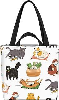 VOID Hauskatzen Katzenrasse Tasche 33x33x14cm,15l Einkaufs-Beutel Shopper Einkaufs-Tasche Bag
