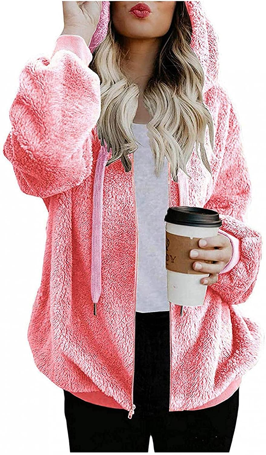 Lovely Nursling Womens Hoodies Max 83% OFF Beauty products Pullover Zip Women's L Oversized