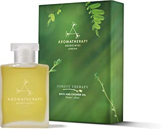 Aromatherapy Associates Forest Therapy Bath and Shower Oil, 1.85Floz. Inspired by the Japanese art of Forest Bathing. Natu...