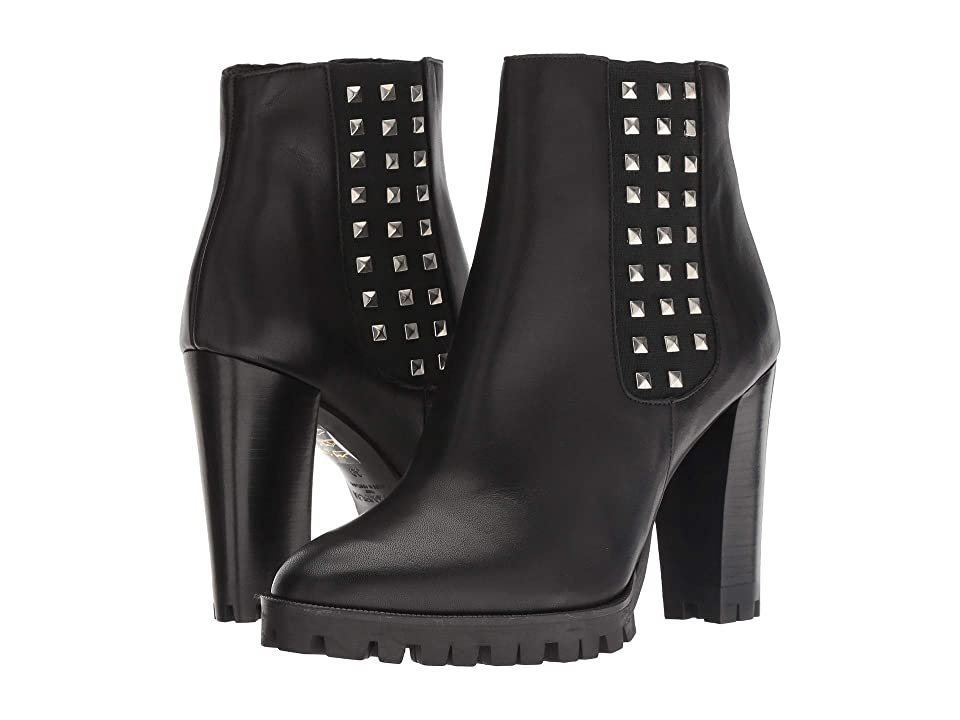 The Kooples Anne Boots with Studs (Black) Women
