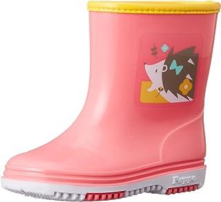 [ASAHI] 雨靴 儿童 ASAHIR302 动物图案 KL38901 刺猬 18 2E