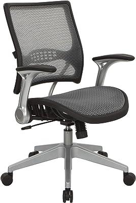 OSP Home Furnishings 67 Series Chair, Black