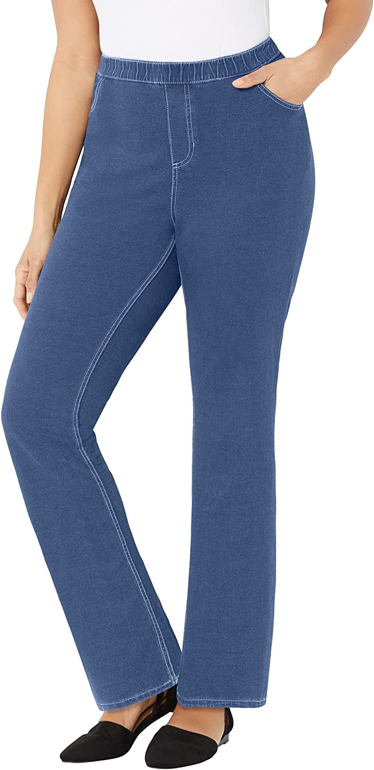 Catherines Women's National products Plus Size Petite Jean New Orleans Mall Knit The