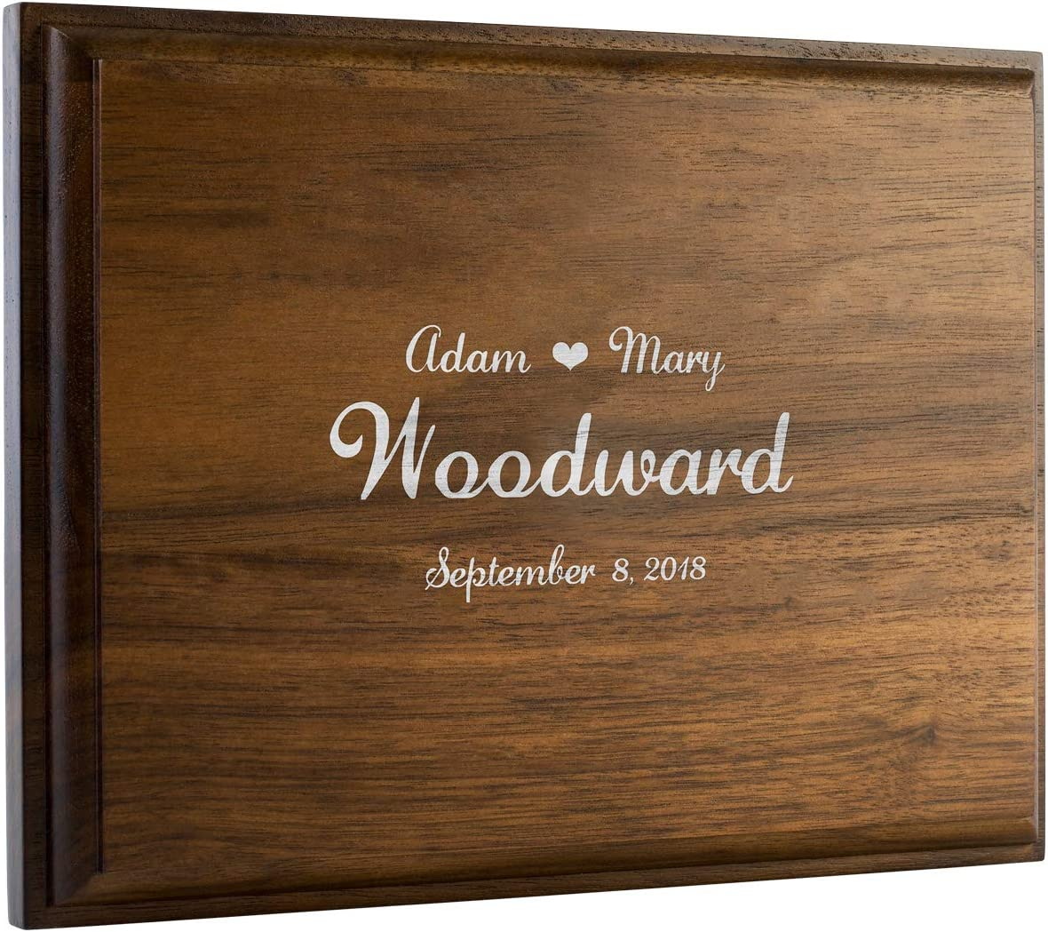Customized sale Alternative Guest Book Wedding Home Rustic Sign Wal Cheap mail order sales