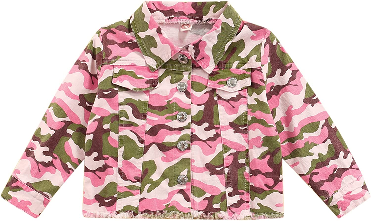 LAGKIYOJ Toddler Baby Girls Fall Print Outfits Jacket Camouflage Our shop OFFers the best service Super special price