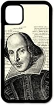 Cell Phone Cover - Compatible with Apple iPhone 11 - Shakespeare - iPhone 11 Case - (6.1 Inch Screen)