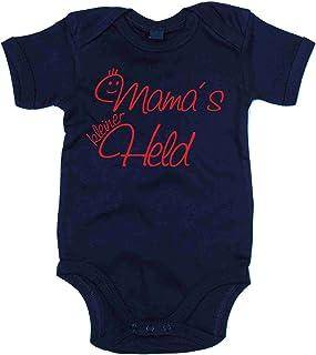 """shirtdepartment Baby Body - Mama""""s kleiner Held"""