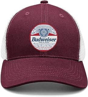 Adjustable Budweiser-Budvar-Beer-Logo- Snapback Hats Fitted Designer Cap