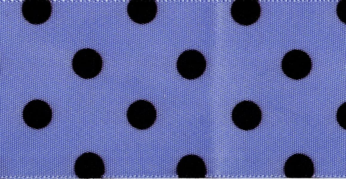 Venus Ribbon V16040-0K3 1 1/2-Inch Candt Dots Single Face Satin Ribbon