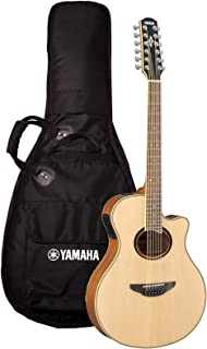 Yamaha APX700II-12 12-String Thinline Cutaway Acoustic-Electric Guitar - Natural