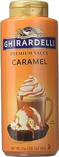 Ghirardelli Chocolate Premium Caramel Sauce Net WT 17 oz (1lb 1 oz) 482g