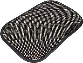 Garneck Almofada para console central de automóvel, almofada para apoio de braço de carro com strass brilhante, ajuste uni...