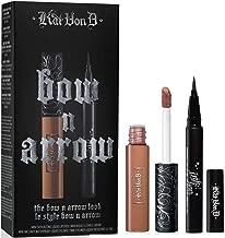 Kat Von D The Bow N Arrow Look: Ink Liner in Trooper + Everlasting Liquid Lipstick in Bow N Arrow