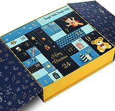 GWHOLE Christmas Goody Gift Box, Christmas Advent Calendar Box Gift Boxes for Gift Christmas Party Decoration Gift Wrappin...