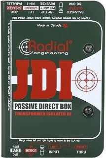 radial jdi used
