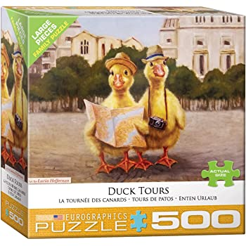 51917 Duck Inspector a 500-Piece Jigsaw Puzzle by Sunsout Inc