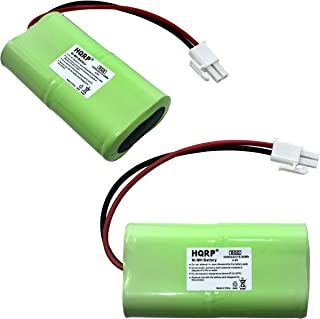 HQRP 2-Pack Battery Works with Mosquito Magnet HHD10006 MM565021 Liberty Plus, Executive Trap, Commander Trap MMBATTERY MM...