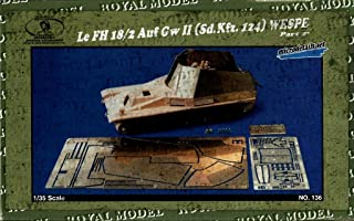 Royal Model 1:35 Wespe Set No. 2 - PE Resin Detail #136