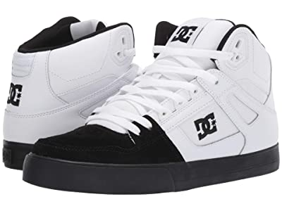 DC Pure High-Top WC (White/Black) Men