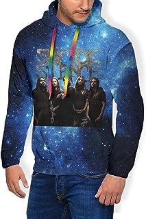 Sweatshirt Mens Hoodie Thicken Plus Velvet Hooded 3D Print Man`s Sweater Hoody with Pocket