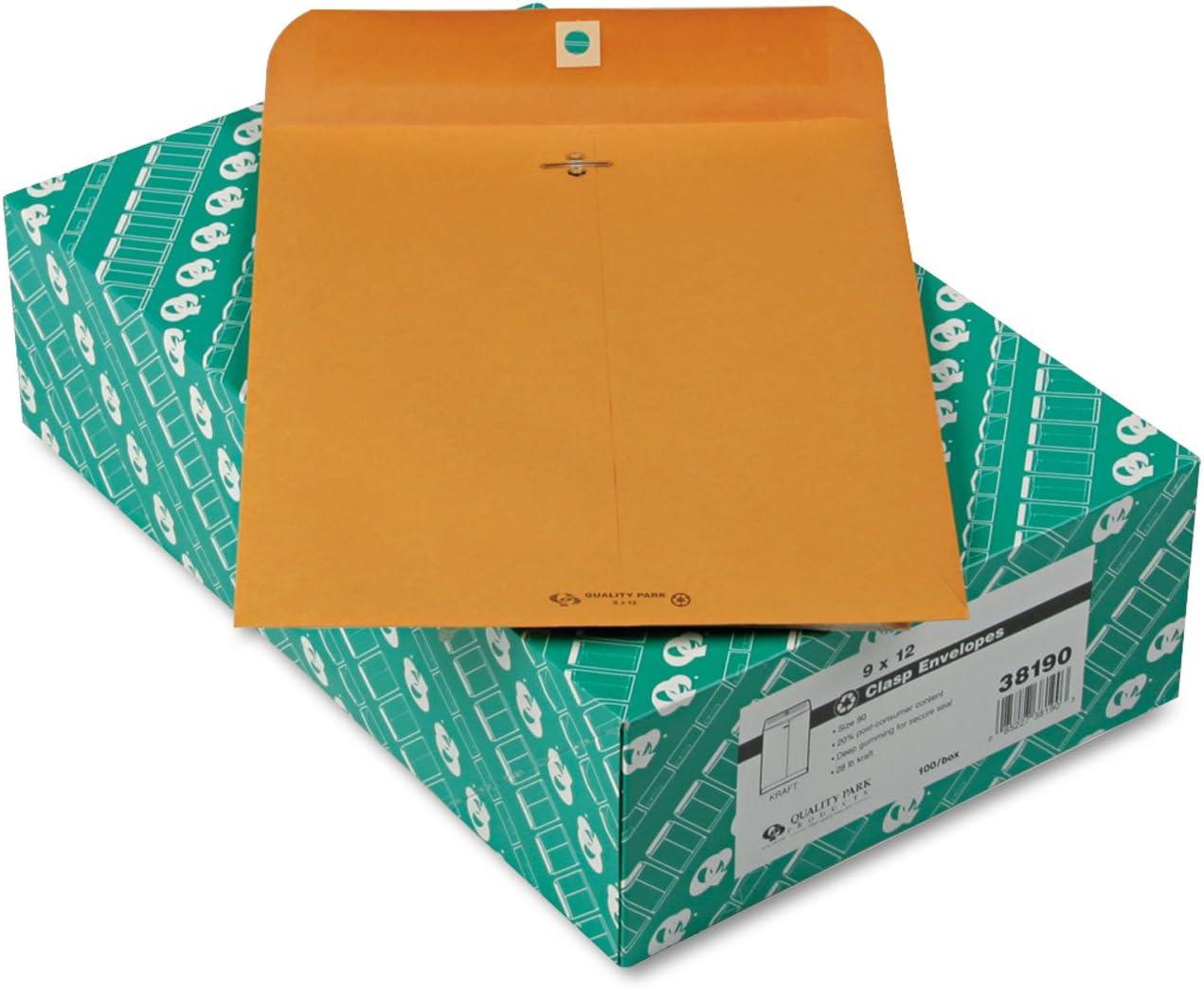 QUA38190 Max 52% OFF - Mail order Quality Park Envelope Clasp