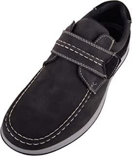 ABSOLUTE FOOTWEAR Mens Casual Faux Leather Boat/Deck/Loafer Shoes/Trainers