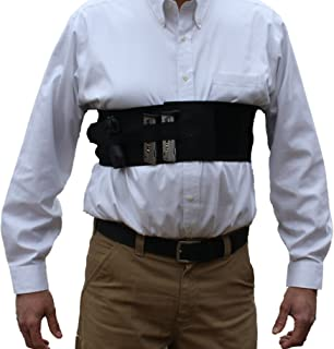 AlphaHolster Concealed Carry Chest Band Gun Holster w/Removable Suspender