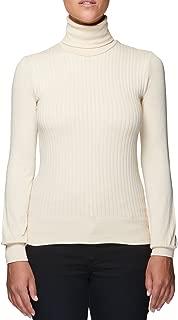 Sweater Women's Jumper Turtleneck Knitwear Made in Italy