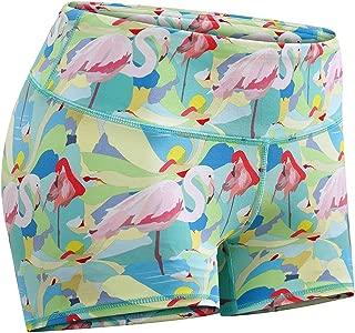 flamingo workout shorts