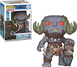 Firetroll #271 Games God of War: Vinyl Figure Collectors Set Bundle with Kratos #269 4 Items and Draugr #272 Artreus #270 Funko POP