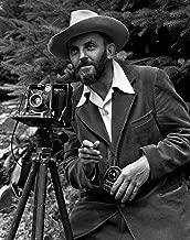 Ansel Adams and Camera : Circa 1947 : Giclee Print Famous Photographer